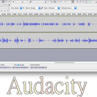 Audacity โปรแกรมทำเพลงระดับเทพที่มืออาชีพเลือกใช้